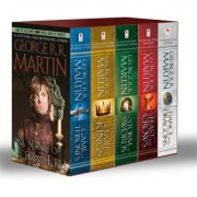 Game of Thrones 5-Copy Boxed Set (George R. R. Martin Song of Ice and Fire Series): A Game of Thrones, a Clash of Kings, a Storm of Swords, a Feast fo