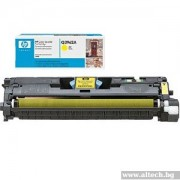 HP Color LaserJet 2550 Print Cartridge, yellow (up to 4,000 pages) (Q3962A)