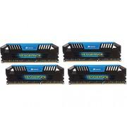 Corsair CMY32GX3M4A1600C9B Vengeance Pro Series Memoria per Desktop a Elevate Prestazioni da 32 GB (4x8 GB), DDR3, 1600 MHz, CL9, con Supporto XMP, Blu