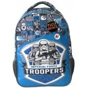 Ghiozdan, clasele 1-4, albastru, STAR WARS Imperial Force Troopers