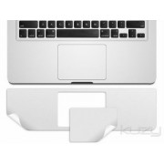 Kuzy - 15inch PALMREST with Trackpad Skin Sticker Cover Silver for Apple MacBook Pro 15.4 (A1286) Glossy Display ONLY