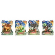 The Lion Guard, Set of 4: Kion's Toppling Rock Wall, Fuli's Canyon Chase, Beshte's Boulder Catapult and Bunga's Coconut Blaster by Disney