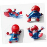 Giftoyou(TM) Newest 1Pcs Cute Auto Part Spider-man Doll Car Accessories Red Blue