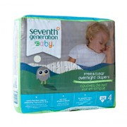 CHLORINE FREE OVERNIGHT DIAPERS (Stage 4) 24 Diapers