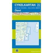 Fietskaart 10 Cykelkartan Öland - Oland   Norstedts