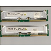 2 x 256MB Samsung RDRAM PC800-40 MR16R1628DF0-CM8 Rambus Mémoire