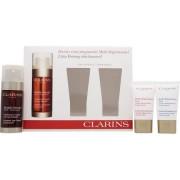 Clarins confezione regalo 30ml siero anti et� + 15ml extra-firming crema giorno anti rughe + 15ml extra-firming crema notte rigenerante