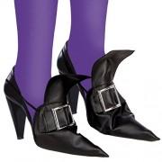 Copri scarpe strega per travestimento Halloween copriscarpe