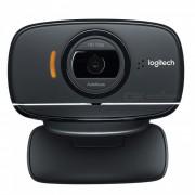 Genuine Logitech USB 2.0 720P Webcam w/ Microphone - Black