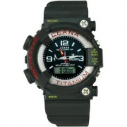 Crude Smart Double Time Watch rg271 With Adjustable Rubber Strap
