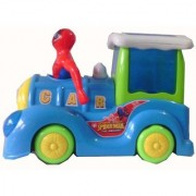 The Amazing Spider Man Loco Engine with Light Sound For Kids