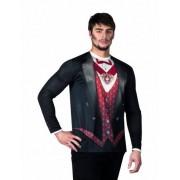 Vegaoo Vampir T-Shirt Halloween für Herren