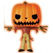 Figurine L´étrange Noël de Mr. Jack POP! Disney Vinyl GITD Pumpkin King Limited 9 cm