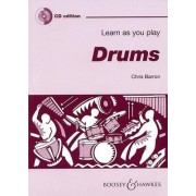 Learn as You Play Drums by Chris Barron
