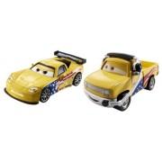 Disney/Pixar Cars Collector Die-Cast Jeff Gorvette and John Lassetire Vehicle, 2-Pack by Mattel