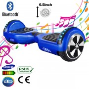 "6.5"" Blue Bluetooth Segway with LED Arches"