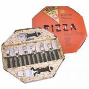 Kit Para Pizza Tramontina 14 Peças Preto Ref: 25099/022
