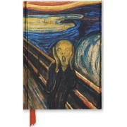 Edvard Munch, the Scream (Foiled Journal) by Flame Tree Studio