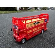 London Transport Bus Remote Control Car Tour Double Decker Bus Lights - Open Top by Action Force Ltd