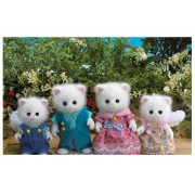 Persian Cat Family by Sylvanian Families