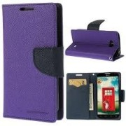 Lenovo S850 Flip Cover Mercury Case (Purple) By Vinnx