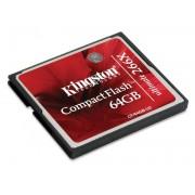 KINGSTON CompactFlash 64GB Ultimate 266x CF/64GB-U2