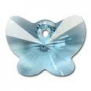 Swarovski Elements 6754 Aquamarine Blue 18mm