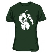 Scitec Collection Tričko Tatoo zelené