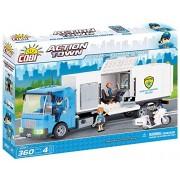 Cobi 1573 - Set Costruzioni Police Mobile Command Center, Bianco