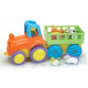 Fun Time Farm Tractor with Animals