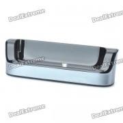 USB Docking Station chargeur avec des données USB / c?ble de recharge pour HTC G12 S510e Desire S - Noir