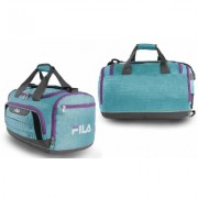 Fila Cypress Small Sport Duffel Bag Teal/Purple Blue