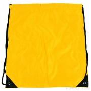 Pytlík do tělocviku / na cvičky jednobarevný stahovatelný žlutý 3H02