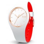 Ice-Watch Loulou IW007240 White Rose Gold Medium horloge