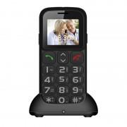 Cellulare gsm per anziani Senior Compas E07 dual sim tasti grandi SOS emergenza radio fm e torcia