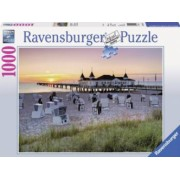 Puzzle MAREA BALTICA AHLBECK USEDOM 1000 piese Ravensburger