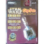 1997 Tigers Electronics Inc. Star Wars R2-D2 Giga Pets Electronic Virtual Pet Model#70-137