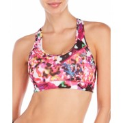 adidas Floral Explosion Techfit Climalite Sports Bra Multiprint