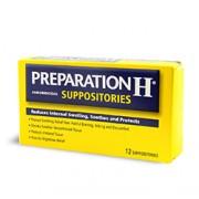 PREPARATION H SUPPOSITORIES 12 Suppositories