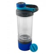 Contigo Shake&Go FIT tárolóval kék 600ml