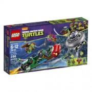 LEGO Ninja Turtles 79120 T-Rawket Sky Strike Building Set