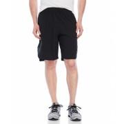 adidas Aeroknit Woven Shorts Black Smog Grey