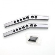 ST Racing Concepts STA80083UGM Aluminum Heavy Duty Upper Suspension Links for The Axial Wraith (Gun Metal)