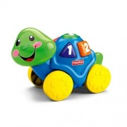 FISHER PRICE LAUGH & LEARN ROLL ALONG TURTLE NEW