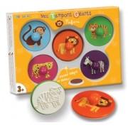 Set stampile din lemn - safari