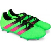 Adidas ACE 16.2 FG/AG Men Football Shoes(Green, Pink)