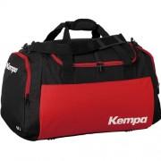 Kempa Sporttasche TEAMLINE - schwarz/rot   M