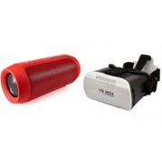 MIRZA Bluetooth Speaker (_JBL Charge K3+ Speaker) And VR Box for Samsung C7 Pro