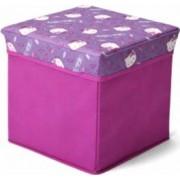 Taburet si cutie depozitare jucarii Hello Kitty