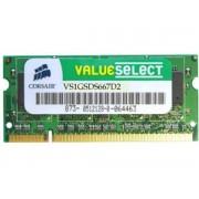 Memorie Laptop Corsair 1GB 667MHz/PC2-5300